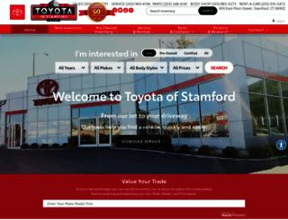 toyotaofstamford.calls.net screenshot