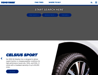 toyotires.com screenshot