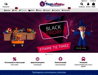 toys-shop.gr screenshot