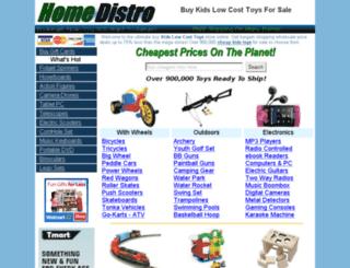 toys.homedistro.com screenshot