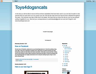 toys4dogsncats.blogspot.com screenshot