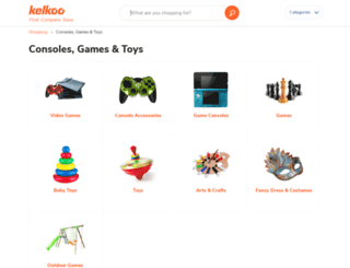 toysandgames.kelkoo.co.uk screenshot