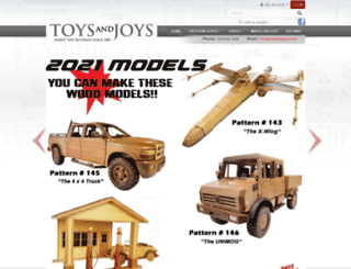 toysandjoys.com screenshot