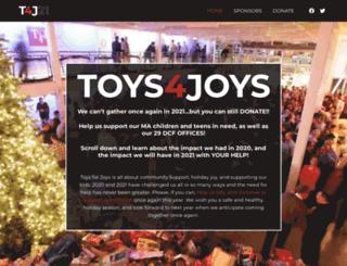 toysforjoys.org screenshot