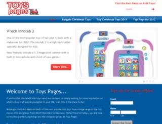 toyspages.co.uk screenshot