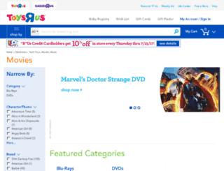 toysrusmovies.com screenshot