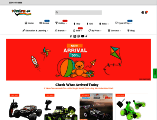toyzone.pk screenshot