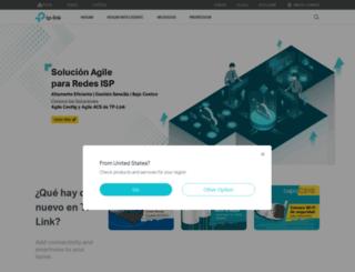 tp-link.com.mx screenshot