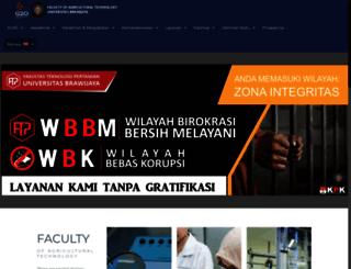 tp.ub.ac.id screenshot
