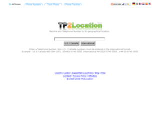 tp2location.com screenshot
