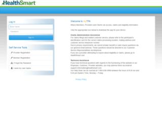 tpa.healthsmart.com screenshot