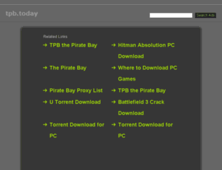 tpb.today screenshot