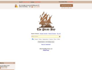 tpb.website screenshot