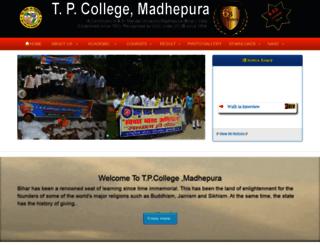 tpcollege.org screenshot