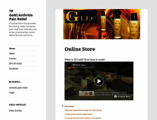 tpgold.com screenshot