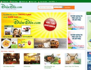 tphcm.diemden.com screenshot