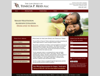 tpreidlaw.com screenshot