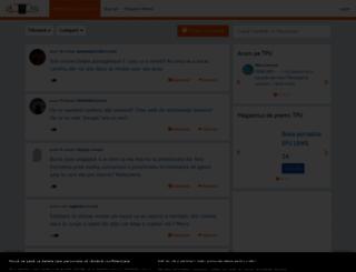 tpu.ro screenshot
