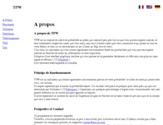 tpw-eu.com screenshot