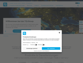 tq-group.de screenshot