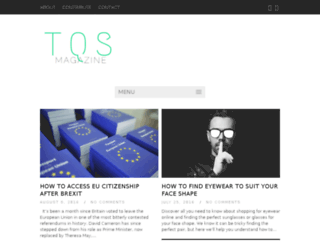 tqsmagazine.co.uk screenshot