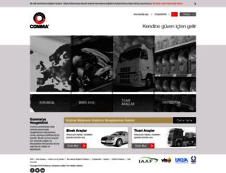 tr.commaoil.com screenshot