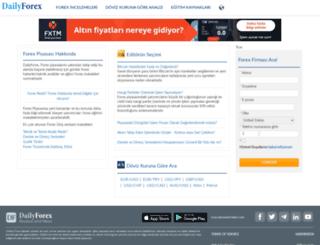 tr.dailyforex.com screenshot
