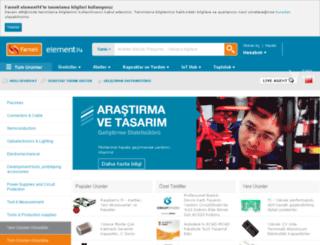 tr.farnell.com screenshot