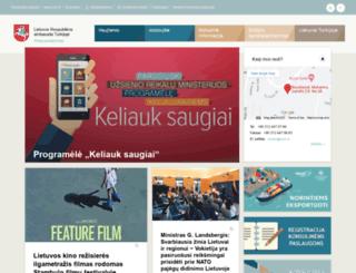 tr.mfa.lt screenshot