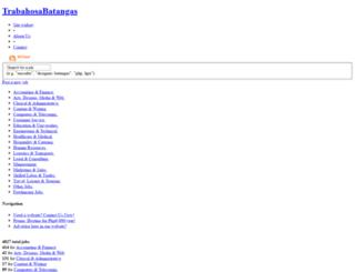 trabahosabatangas.com screenshot