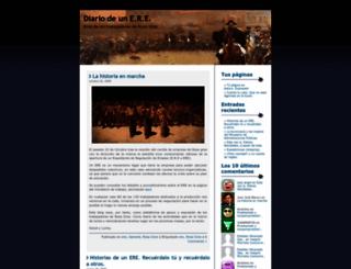 trabajadoresrosagres.wordpress.com screenshot