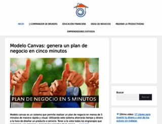 trabajardesdecasasi.com screenshot