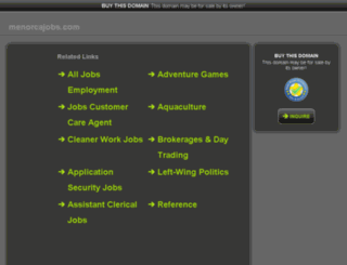 trabajarenmenorca.com screenshot