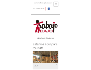 trabajobajio.com screenshot