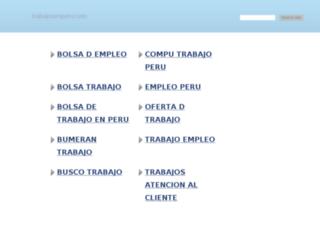 trabajosenperu.com screenshot