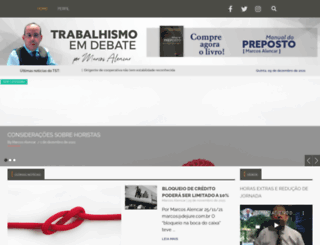 trabalhismoemdebate.com.br screenshot