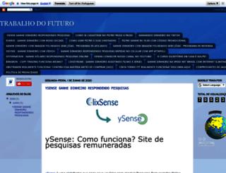 trabalhodofuturoo.blogspot.com.br screenshot