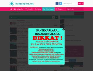 trabzonport.net screenshot