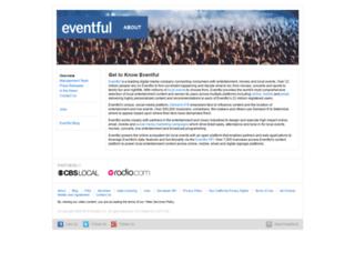 trac.evdb.com screenshot