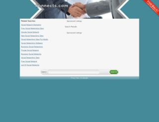 trac.konnects.com screenshot