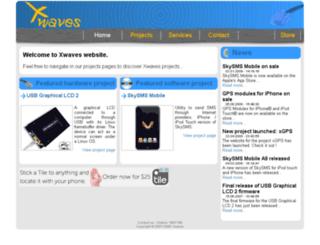 trac.xwaves.net screenshot