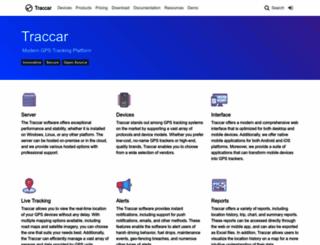 traccar.org screenshot