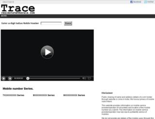 trace.realestate4kerala.com screenshot