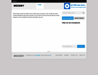 tracemobile2.meebby.com screenshot