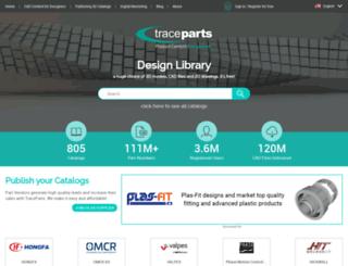 tracepartsonline.net screenshot