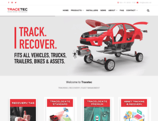 tracetecfleet.com screenshot
