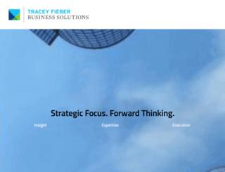 traceyfieber.com screenshot