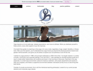 traceykelleyyoga.com screenshot