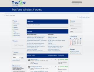 tracfoneforum.com screenshot