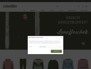 trachtenmode-leismueller.de screenshot